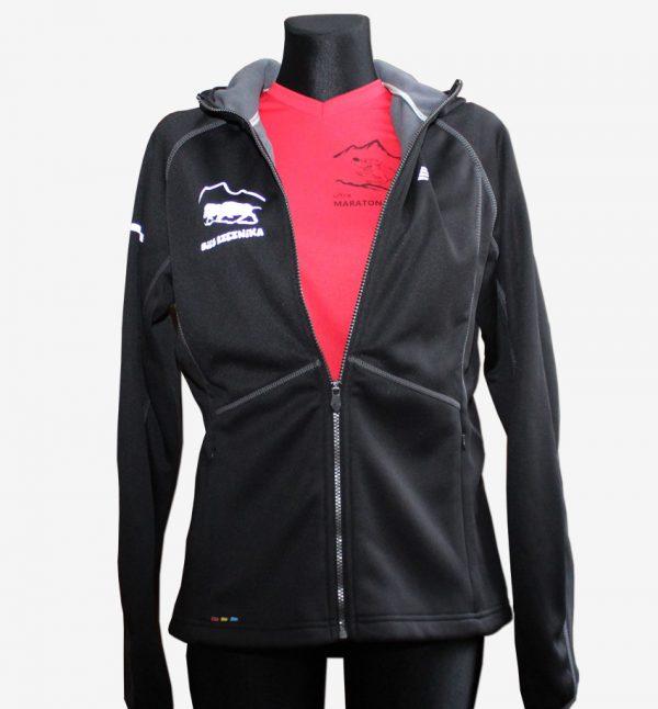 Rzeźnik - damska bluza biegowa czarna