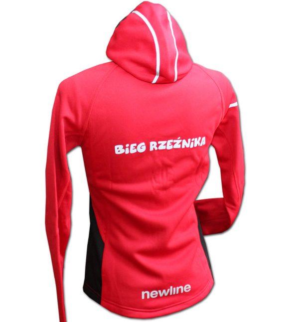 Rzeźnik - męska bluza biegowa czerwona