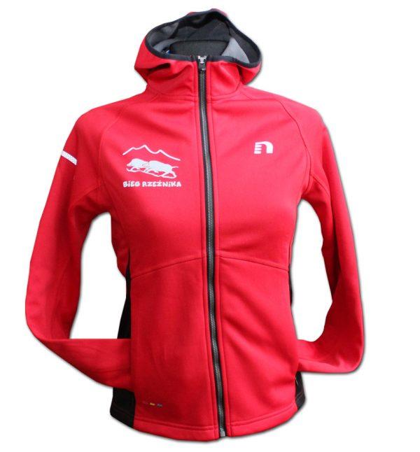 Rzeźnik - damska bluza biegowa czerwona
