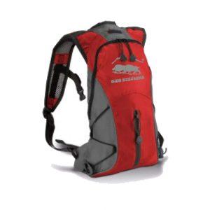 Rzeźnicki plecak czerwony